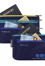 TRAVELON CURRENCY & PASSPORT ORGANIZER TRAVELON 43370