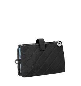 BAGGALLINI BLACK TOILETRY CASE
