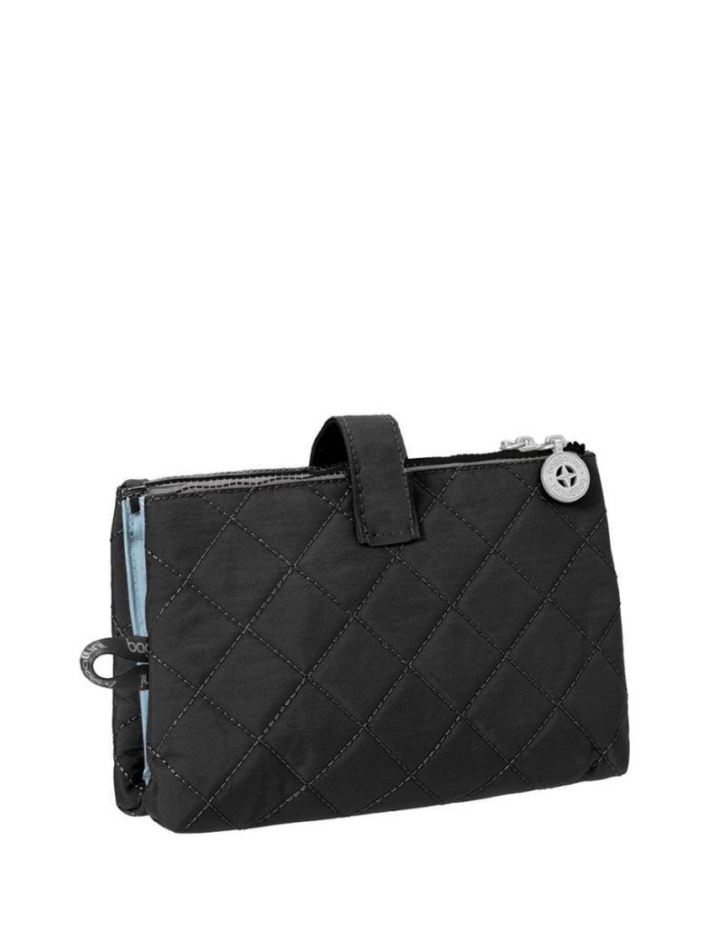 BAGGALLINI BLACK TOILETRY CASE TFT181