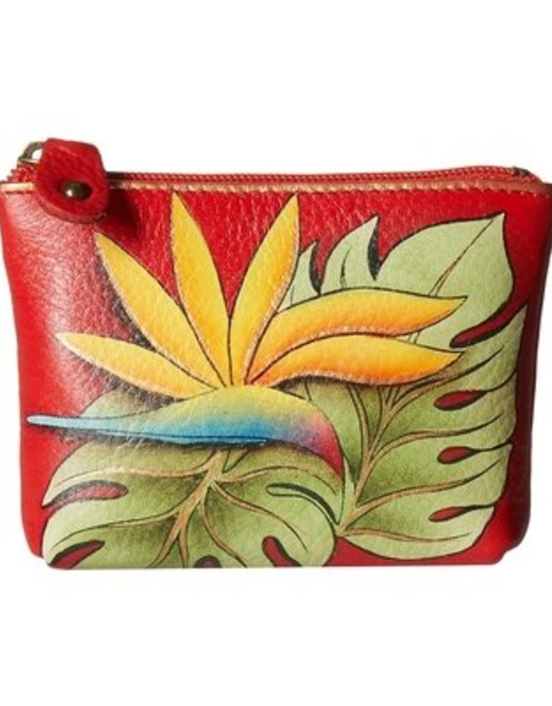ANUSCHKA 1031 ISE  LEATHER COIN POUCH