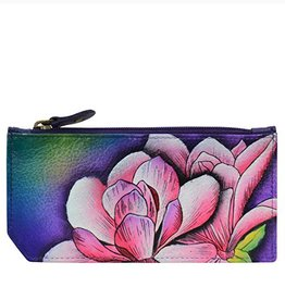 ANUSCHKA 1140 MGM RFID BLOCKING CARD CASE MAGNOLIA MELODY