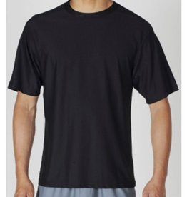 EXOFFICIO XXL BLACK ROUND NECK T SHIRT