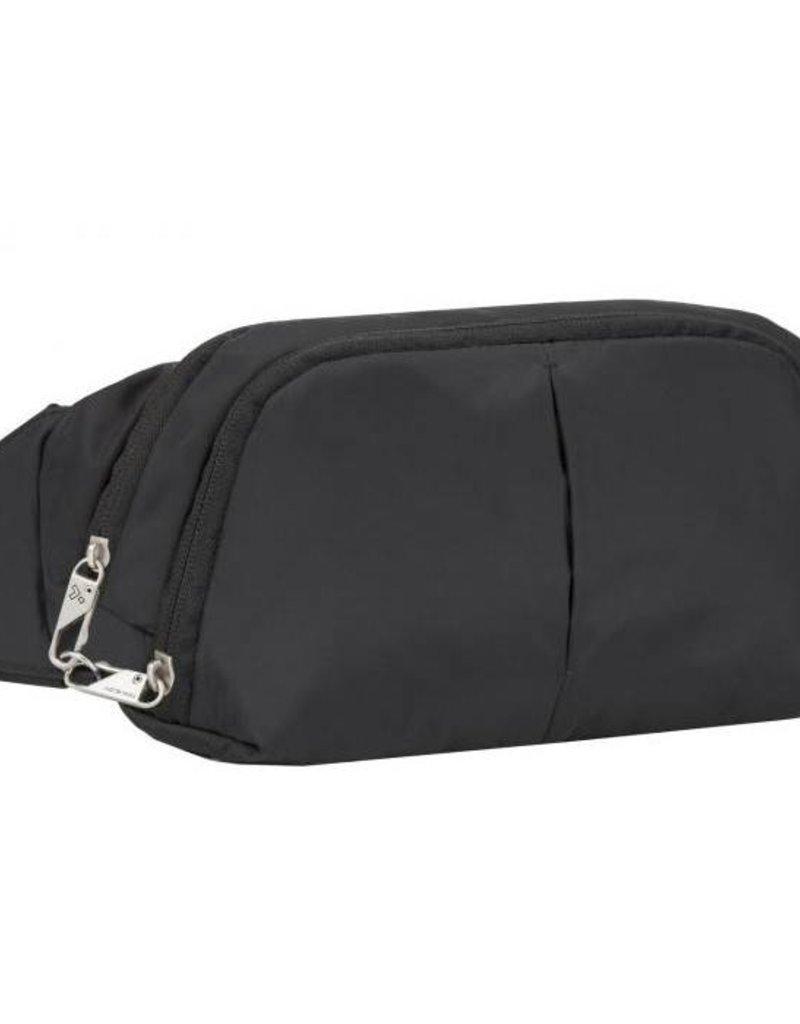 TRAVELON 42858 BLACK ANTI THEFT WAIST BAG #