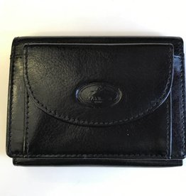 MANCINI LEATHER 52162 RFID BLACK LADIES LEATHER WALLET