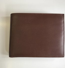 BOSCA BROWN ITALIAN LEATHER WALLET