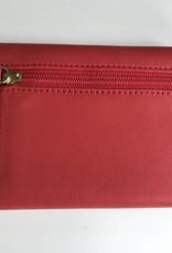 BOSCA 1230-611 RED NAPLES LEATHER WALLET