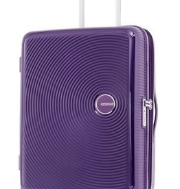 AMERICAN TOURISTER CARRYON SPINNER PURPLE CURIO