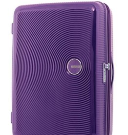 AMERICAN TOURISTER PURPLE LAGE SPINNER CURIO