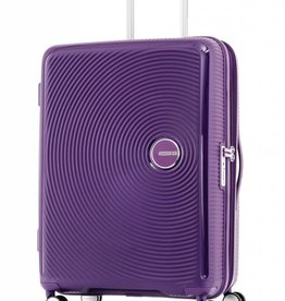 AMERICAN TOURISTER PURPLE MEDIUM SPINNER CURIO