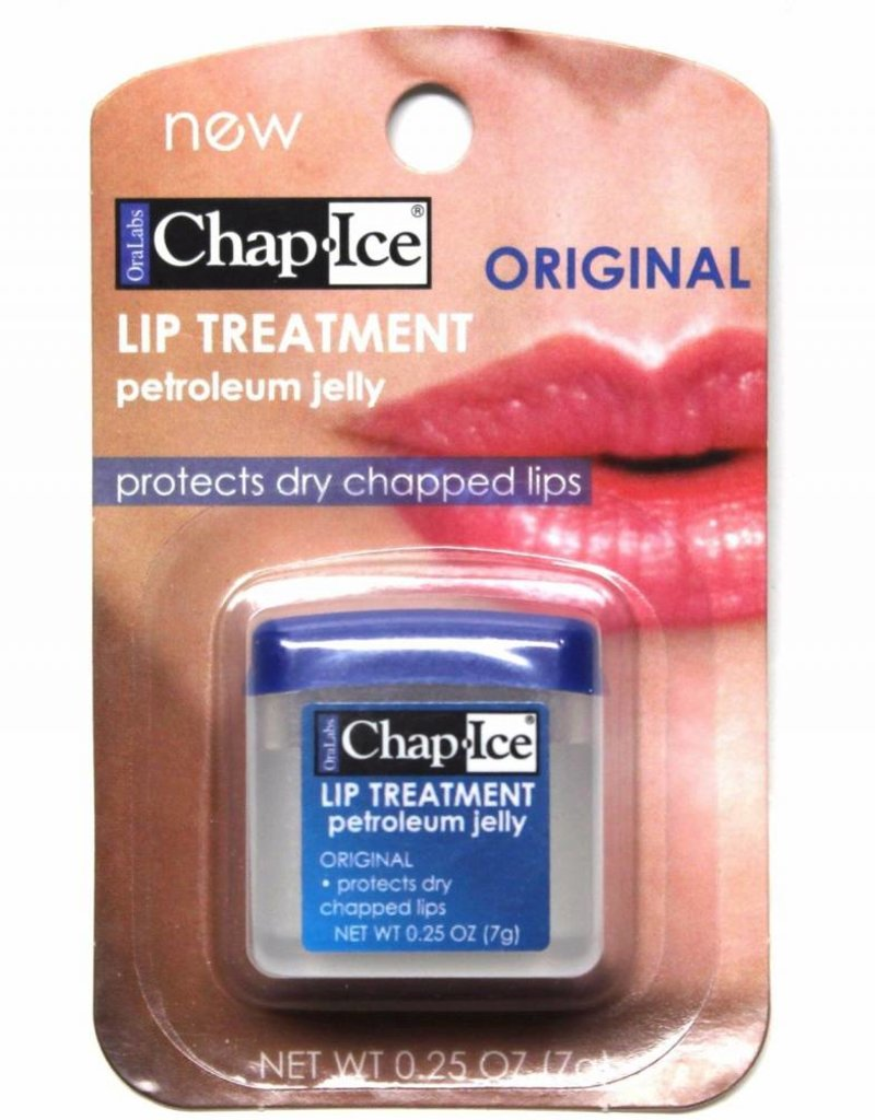 CHAP ICE SINGLE PETROLEUM JELLY TUBS 7g ORIGINAL