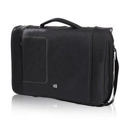 GINO FERRARI BRIZO 17 INCH LAPTOP MESSENGER BLACK