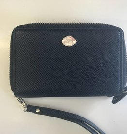 TREND 2 ZIP WRISTLET WALLET BLUE RFID 1468289 THE TREND