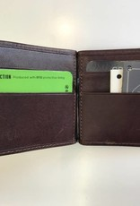TREND 917034 MONEY CLIP WALLET BROWN RFID