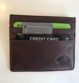 TREND CREDIT CARD WALLET BROWN RFID 917394 THE TREND