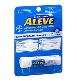 ALEVE TRAVEL 10 PK 220mg