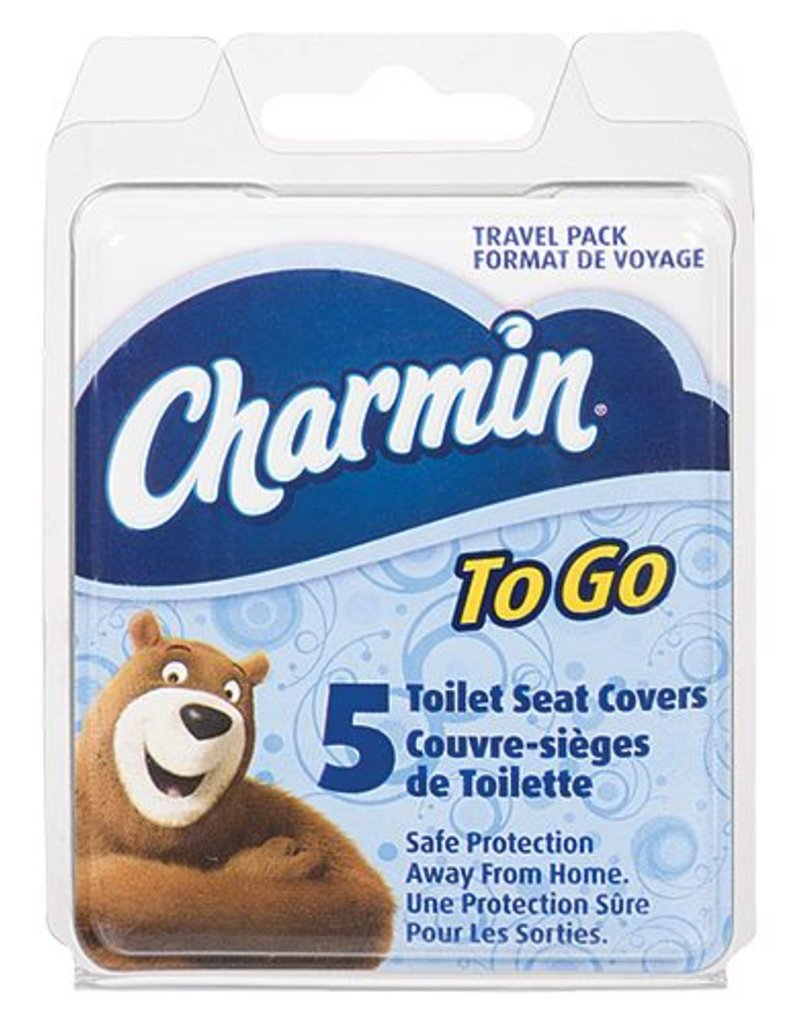 CHARMIN TOILET SEAT COVER 5PC   Capital City Luggage