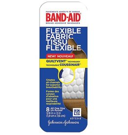 BAND-AID FLEX FABRIC TRAVEL PACK 8PK