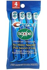 CREST SCOPE MINIBRUSH 4PK