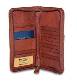 OSGOODE MARLEY 1202 BRANDY RFID ZIPPER TRAVEL ORGANIZER