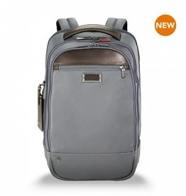 BRIGGS & RILEY GREY MEDIUM BACKPACK BRIGGS
