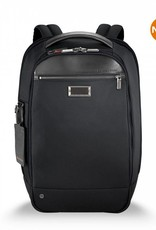 BRIGGS & RILEY KP420-4 BLACK SLIM BACKPACK