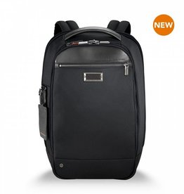 BRIGGS & RILEY BLACK SLIM BACKPACK