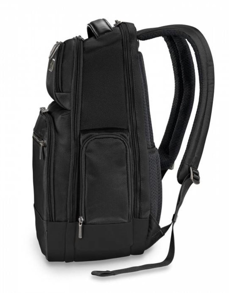 BRIGGS & RILEY KP426-4 BLACK MEDIUM CARGO BACPACK