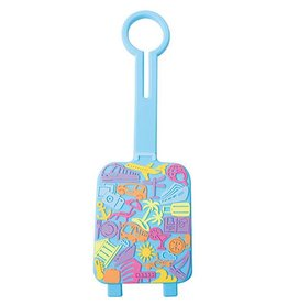 AUSTIN HOUSE AH24 RL01 LUGGAGE TAG TROPICAL TRAVEL SUITCASE