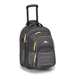 HIGH SIERRA 636114230 WHEELED BACKPACK W REMOVABLE DAYPACK MERCURY