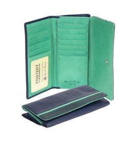 OSGOODE MARLEY 1406 RFID BLACK CARD CASE WALLET