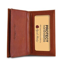 OSGOODE MARLEY 1212 BRANDY RFID GUSSETED CARD CASE