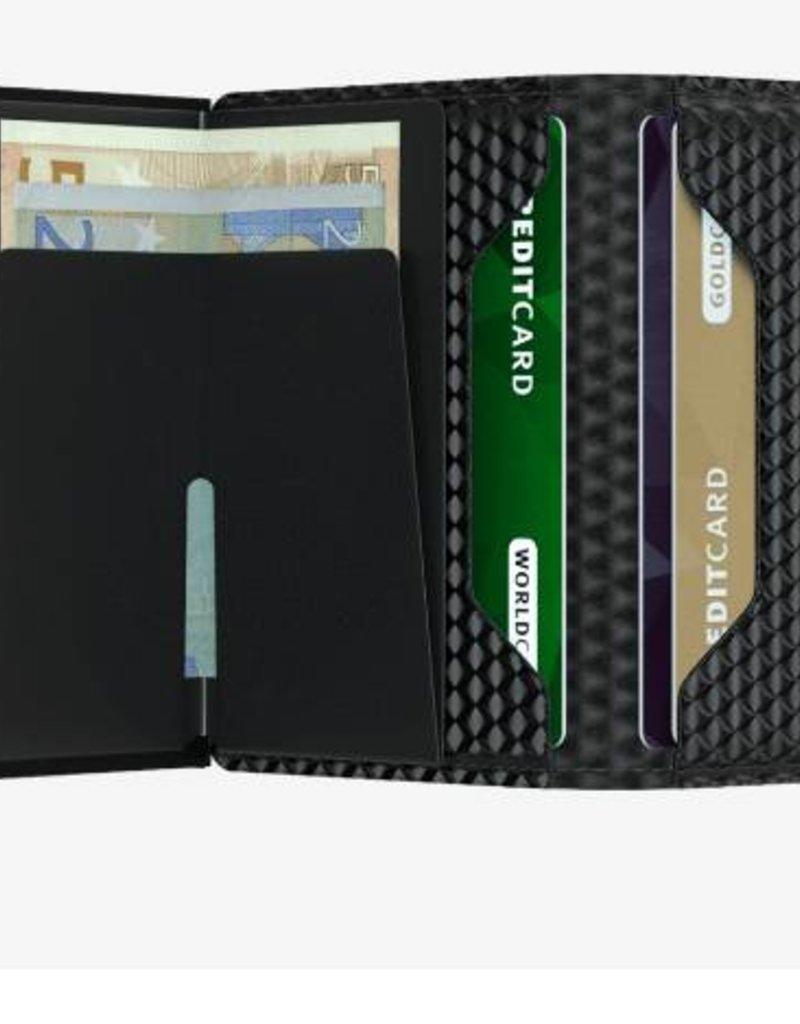 SECRID SLIMWALLET RFID CUBIC BLACK
