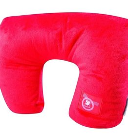 AUSTIN HOUSE AH92RP01 2 IN 1 NECK PILLOW RED