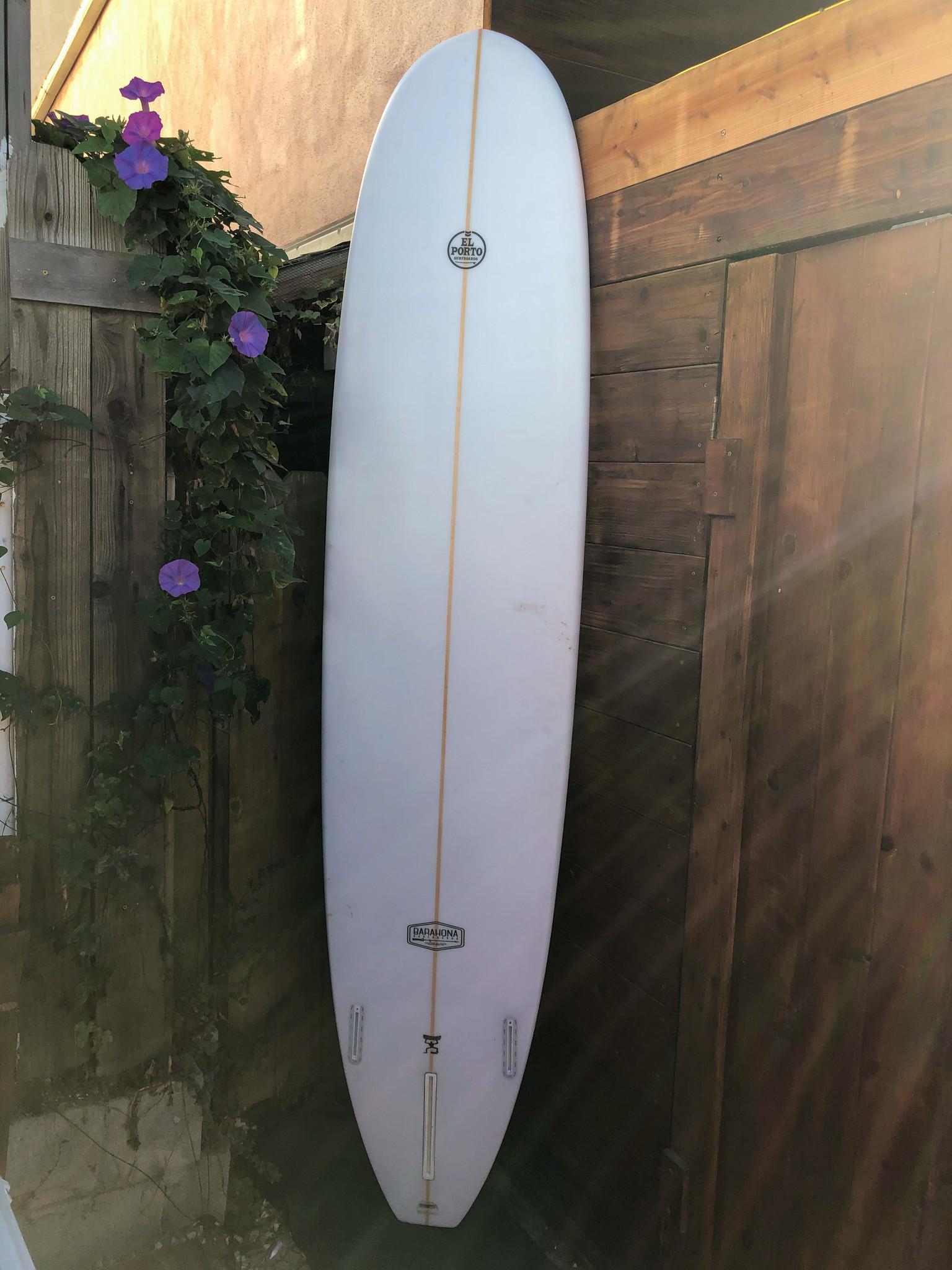 """El Porto Surfboards 9' El Porto Surfboards """"Log"""""""