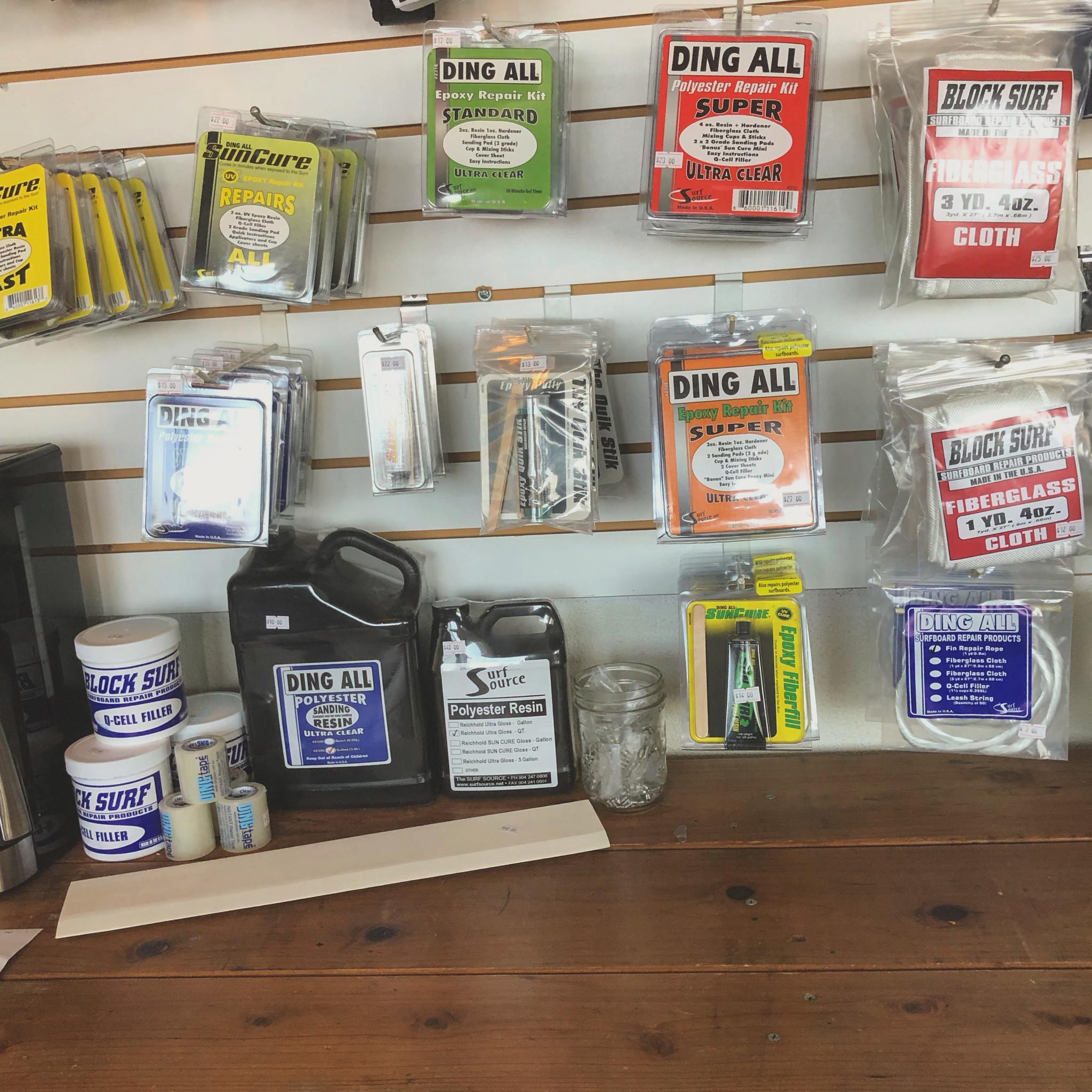 DIY Ding Repair Kits