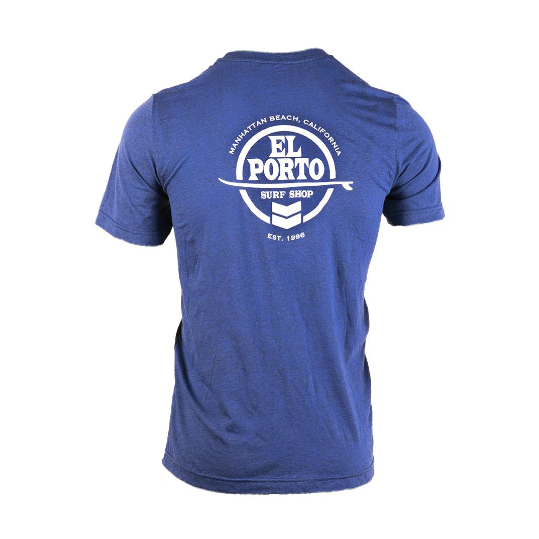 """El Porto Surfboards El Porto """"Circle Logo"""" T - Short Sleeve"""