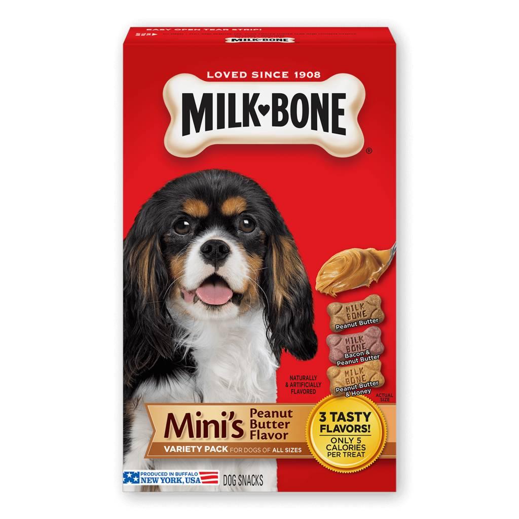 Big Heart (Milkbone) Milkbone Biscuits Mini PB Variety 6/15oz