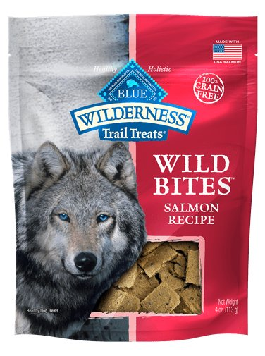 Blue Buffalo Blue Wild Bits Dog Treats Salmon 4oz