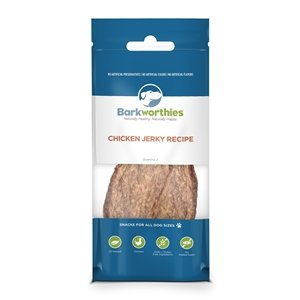 Barkworthies Barkworthies Jerky Chicken 2pk 20/cs