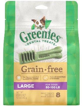 Greenies Greenies Grain Free Large Dog Dental Treats 12oz