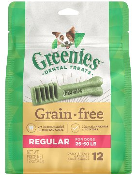 Greenies Greenies Grain Free Regular Dog Dental Treats 12oz