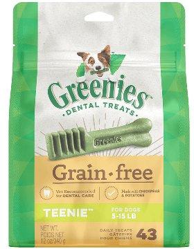 Greenies Greenies Grain Free Teenie Dog Treats 12oz