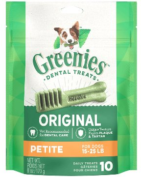 Greenies Greenies Original Petite Dog Treat 12oz