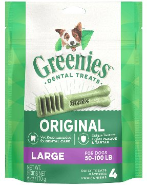 Greenies Greenies Original Tub Large Dog Treats 27oz