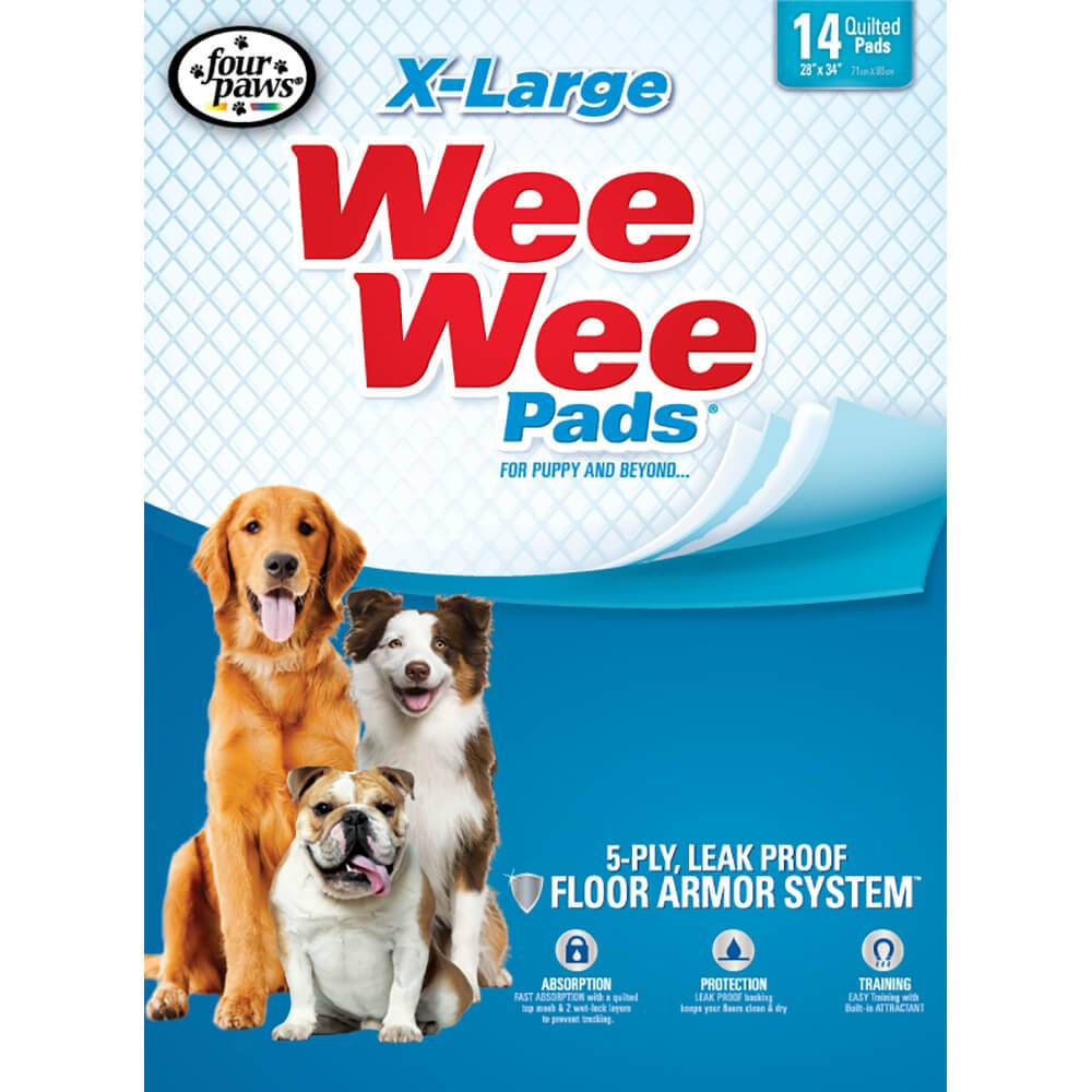 Four Paws Products Four Paws Wee Wee Pad XL 14pk