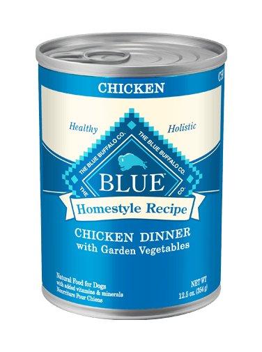 Blue Buffalo Blue Buffalo Homestyle Recipe Chicken Dinner Canned Dog Food 12/12.5oz