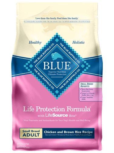 Blue Buffalo Blue Buffalo Small Breed Life Protection Formula Chicken & Brown Rice Adult Dog  Food 6 Lb.