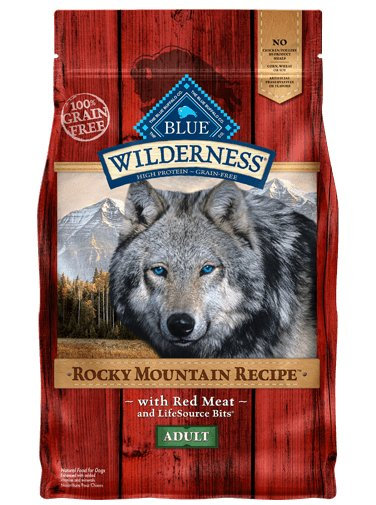 Blue Buffalo Blue Buffalo Wilderness Rocky Mountain Recipe with Red Meat Adult Dry Dog Food 22 Lb.