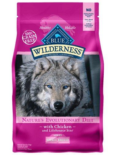 Blue Buffalo Blue Buffalo Small Breed Wilderness Chicken Adult Dry Dog Food 4.5 Lb.