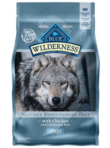 Blue Buffalo Blue Buffalo Wilderness Chicken Adult Dry Dog Food 4.5 Lb.
